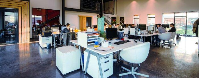 Privatetterforskere på kontoret